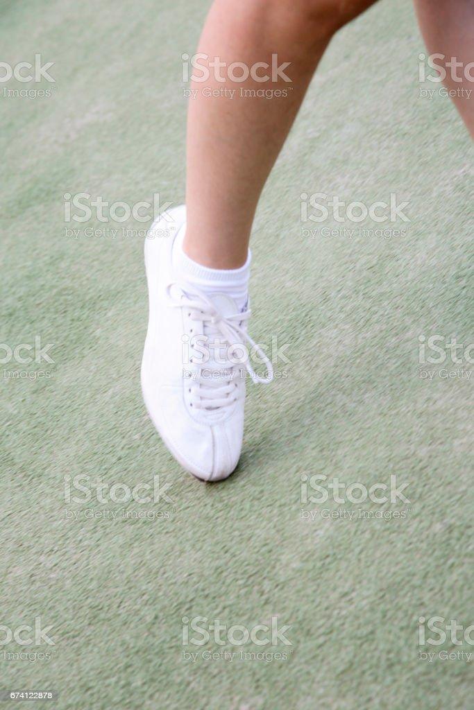 Women's feet royalty-free stock photo