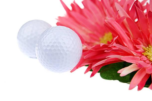 Women's Golf stock photo