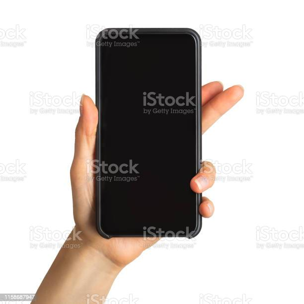 Womens hand showing black smartphone concept of taking photo or picture id1158687947?b=1&k=6&m=1158687947&s=612x612&h=bppgdkparkcvkyx8tt1jqu7uvpi zy4ixuplooxhjlu=