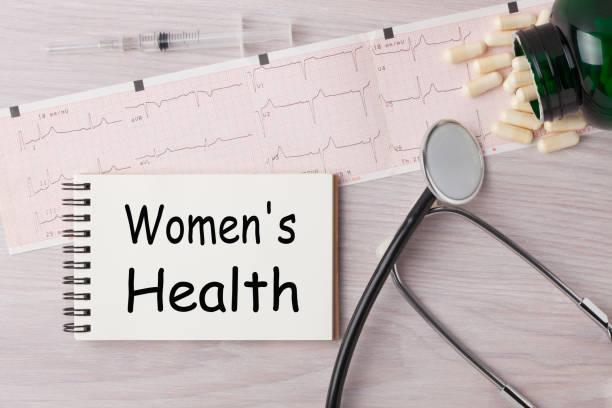 konzept der frauen gesundheit - symptome brustkrebs stock-fotos und bilder
