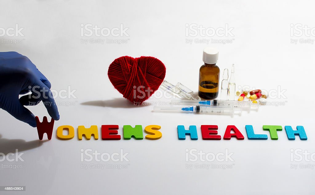 womens health stock photo