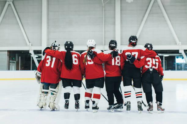 Women's Ice Hockey Team Portrait