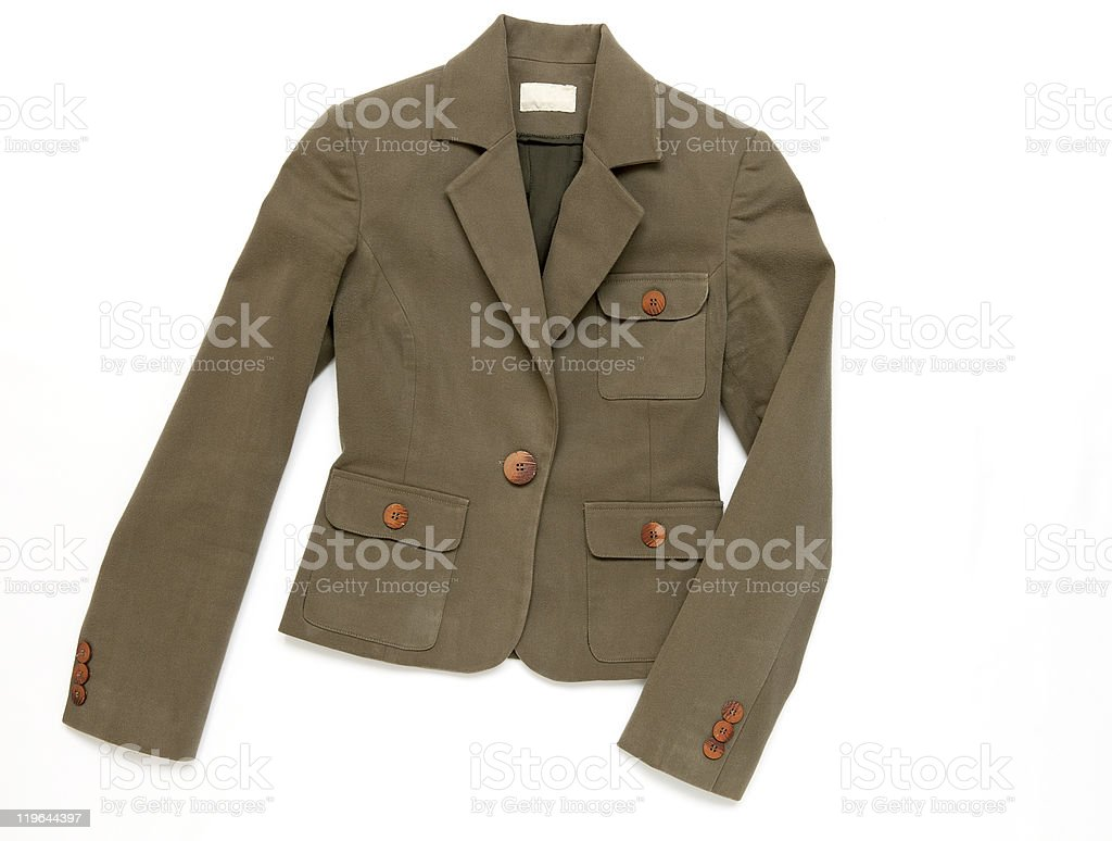 women's jacket royalty-free stock photo
