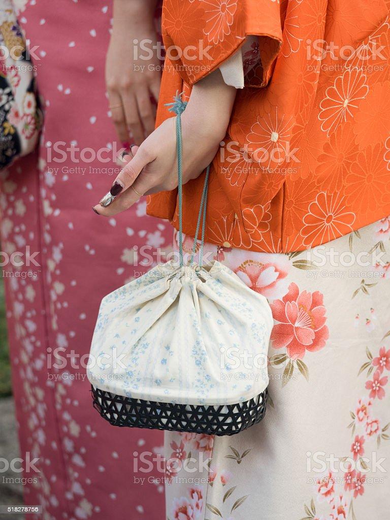 Women's kimono stock photo