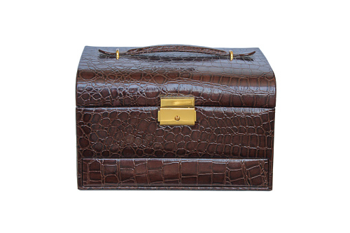 Women's leather chest
