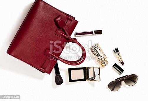 istock Women's personal accessories 638637448