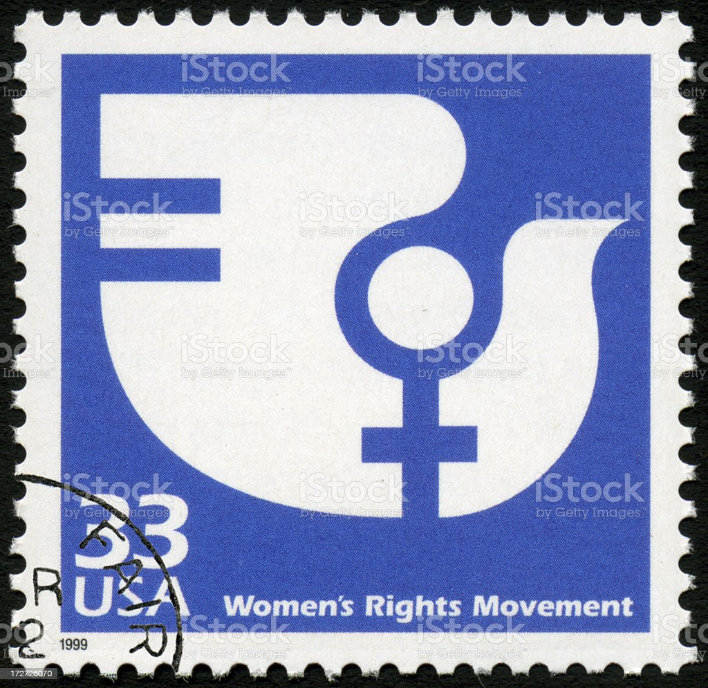 Women's Rights royalty-free stock photo