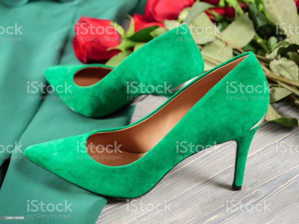 Womens Shoes Fashion Outfit For Christmas Evening Night Out With Regard To High Heel Template For Cards