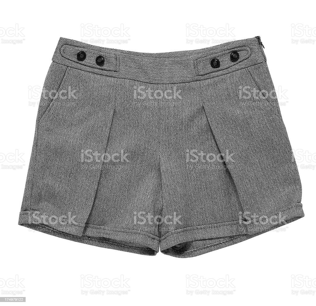 women's shorts royalty-free stock photo