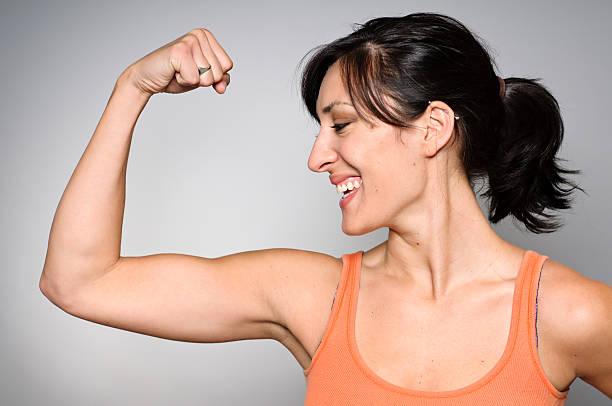 Women's Strength/Fitness stock photo