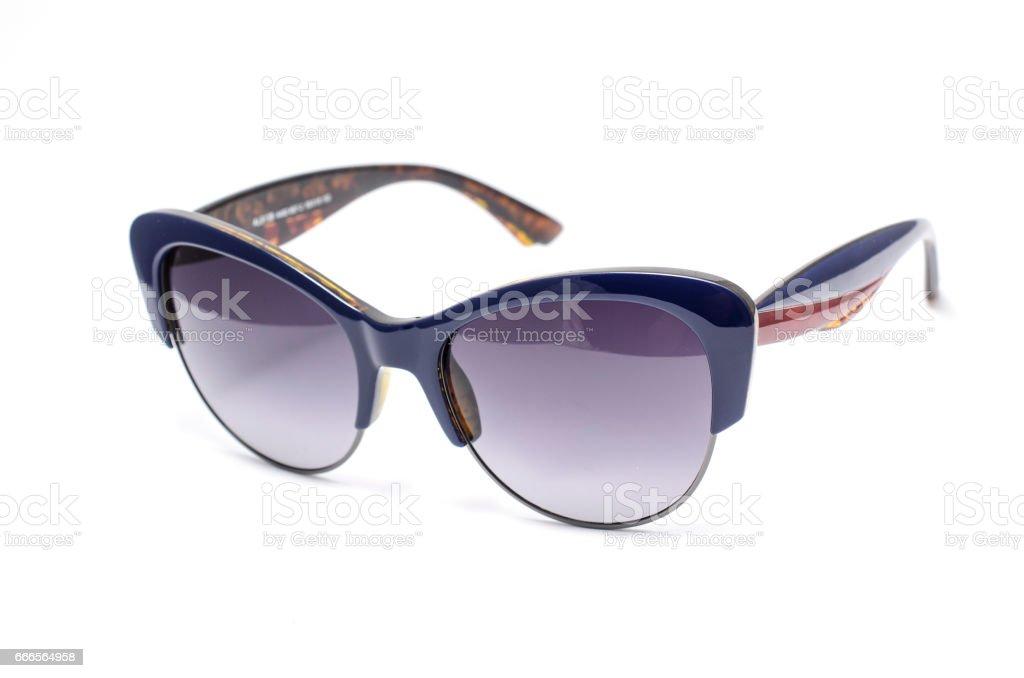 Y Foto Sobre Fondo Mujer Gafas De Aislados Blanco Stock Sol y8Nn0OPvwm