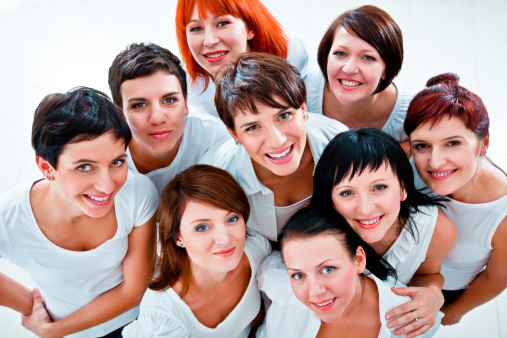 Womens Team Stock Photo - Download Image Now
