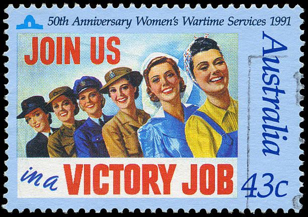 Women's Wartime Services  war effort stock pictures, royalty-free photos & images