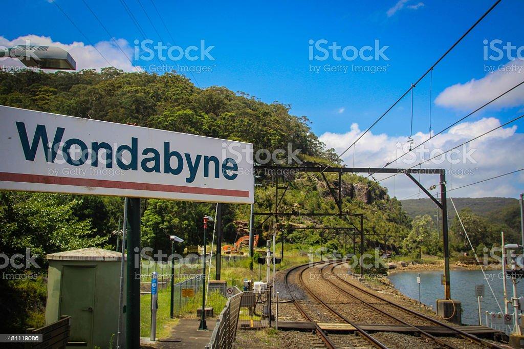 Wondabyne Bahnhof – Foto