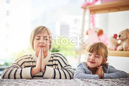 istock I wonder what Mom is praying for... 1126412383