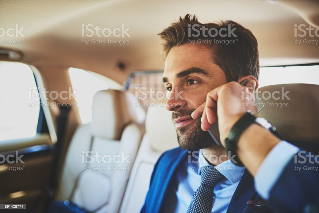I wonder what will he be up to today stock photo