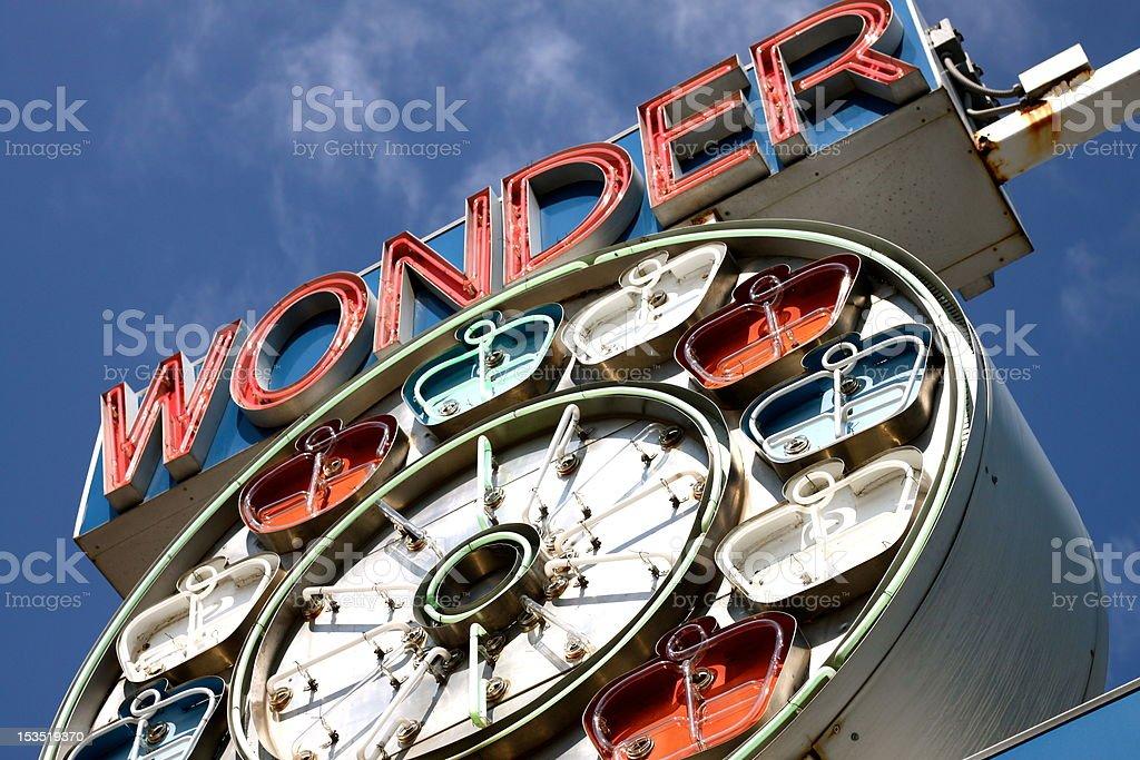 Wonder Wheel royalty-free stock photo