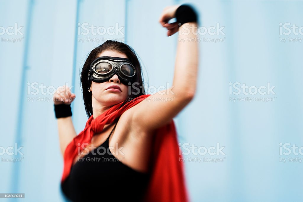 Wonder Woman stock photo
