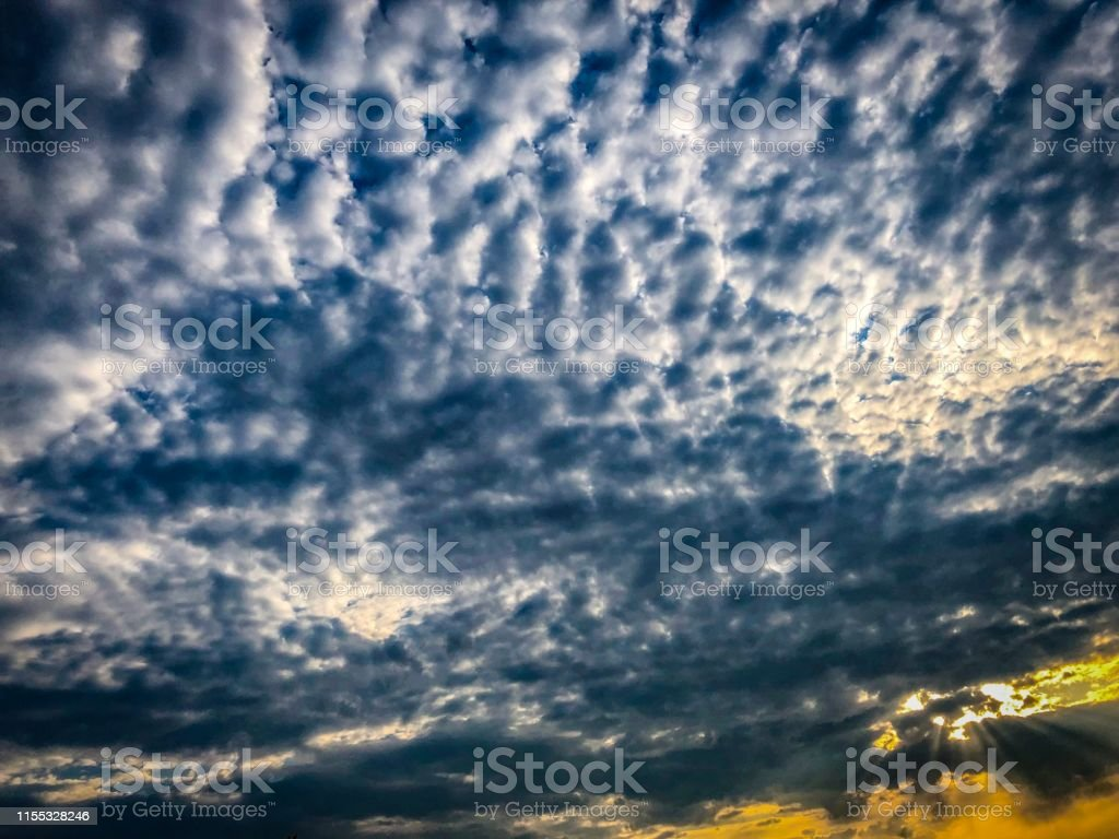 Picture shows a wonderful and dramatic sky