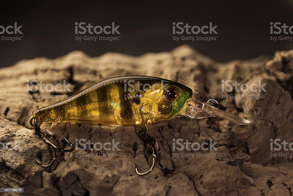 Wonderful fishing bait stock photo