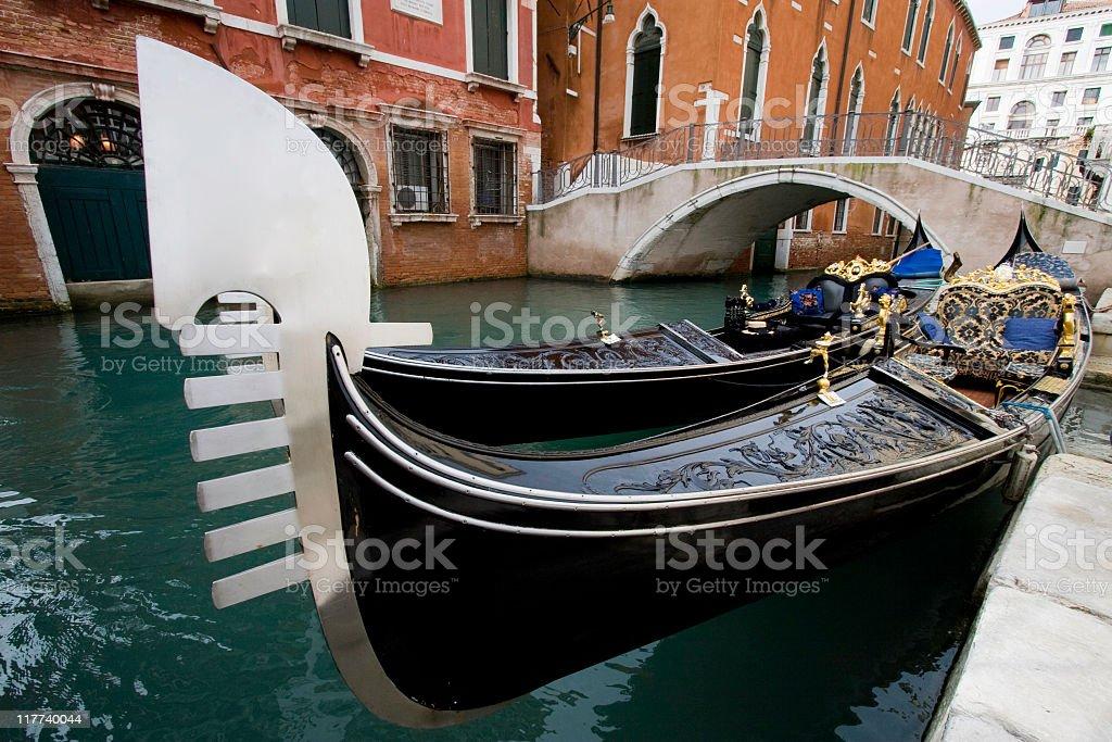 Wonderful gondolas royalty-free stock photo
