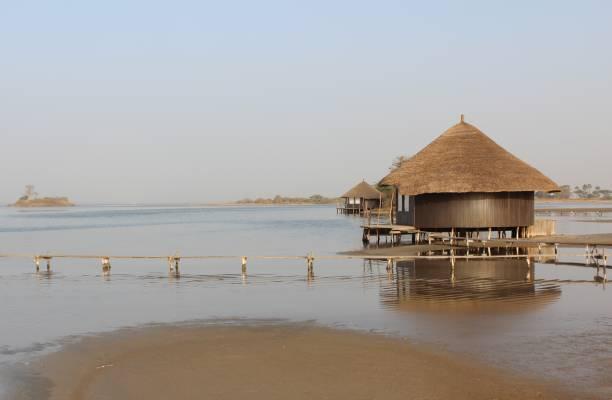 Maravilloso hotel en Senegal - foto de stock