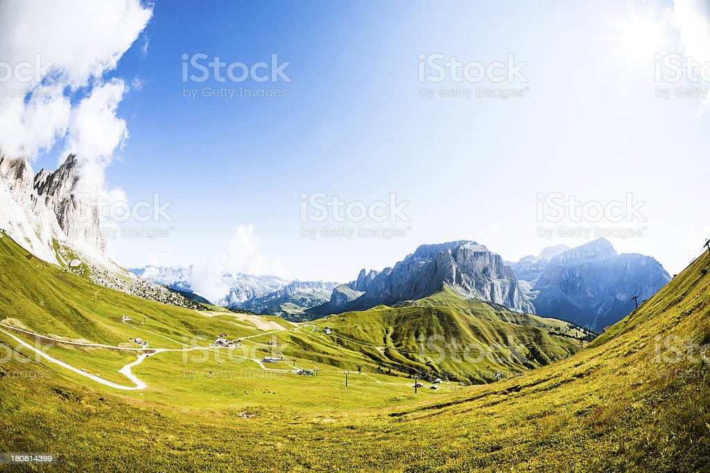 Wonderful Landscape in Italy royalty-free stock photo