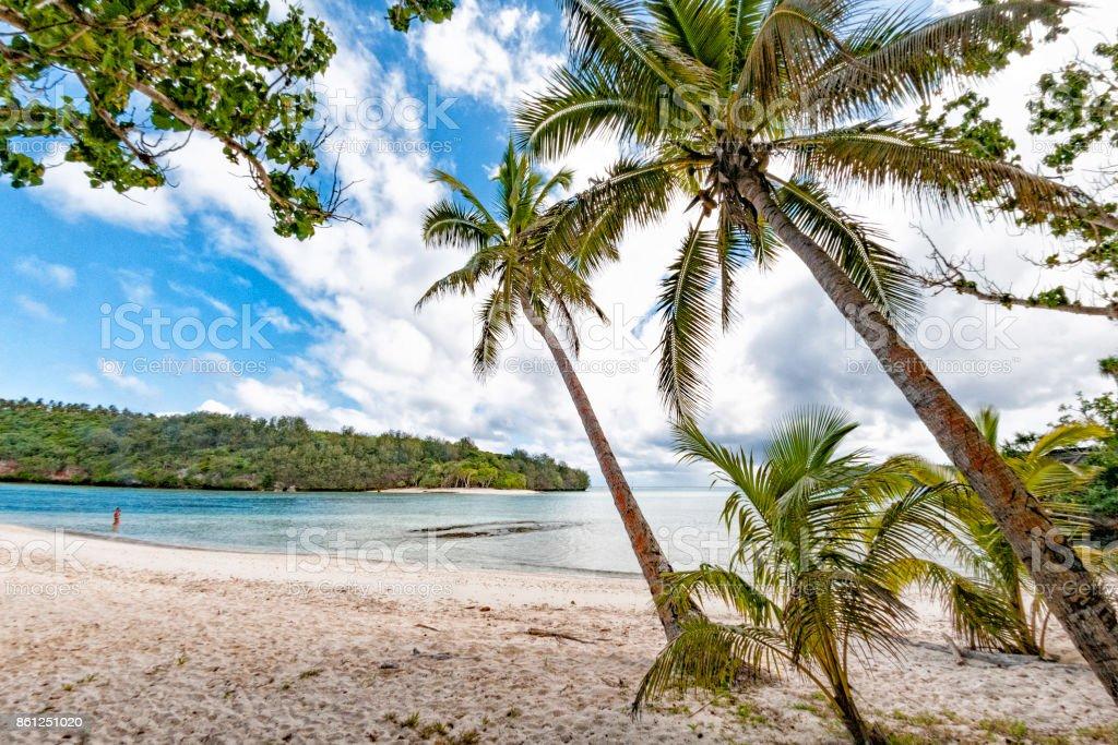 wonderful landscape of vava'u island in Kingdom of Tonga stock photo