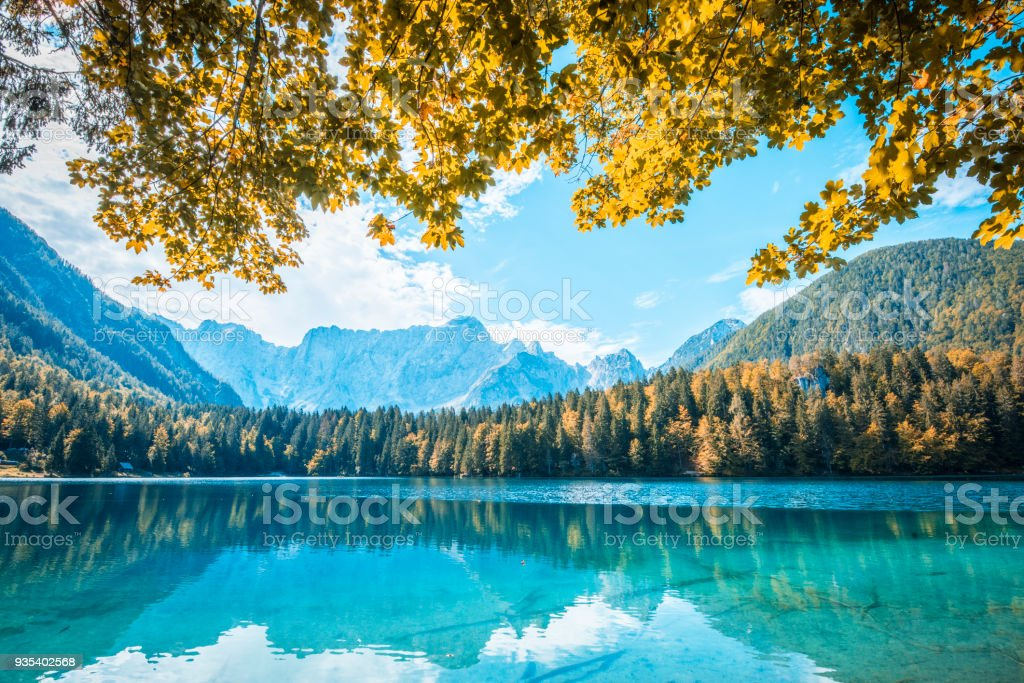 Wunderbare mountain lake – Foto