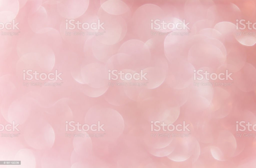 wonderful romantic soft pink bokeh background stock photo