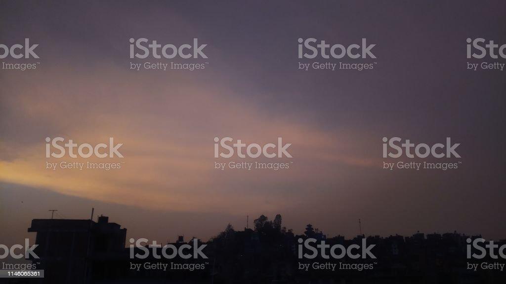 Wonderful Skyline Wallpaper Background Stock Photo Download Image Now Istock