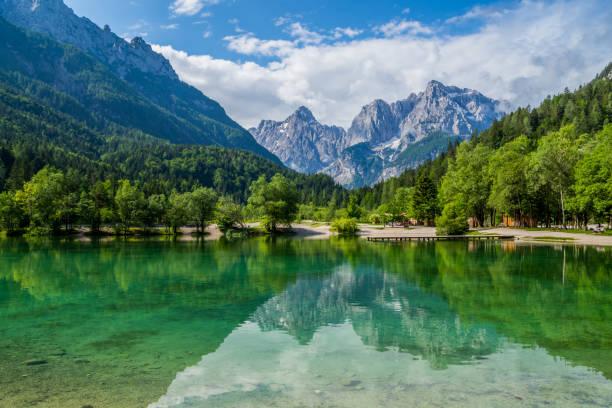 Wonderful Slovenia on kranjska Gora and  the Jasna Lake