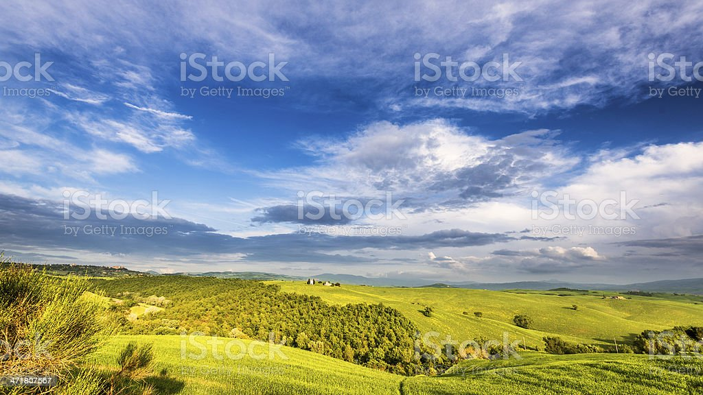 Wonderful Tuscany royalty-free stock photo