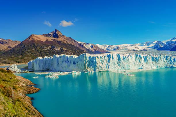 Herrliche Aussicht auf den riesigen Perito Moreno Gletscher in Patagonien in – Foto