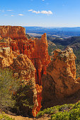 Wonderful view of breathtaking landscape in Bryce Canyon National Park, Utah, United States