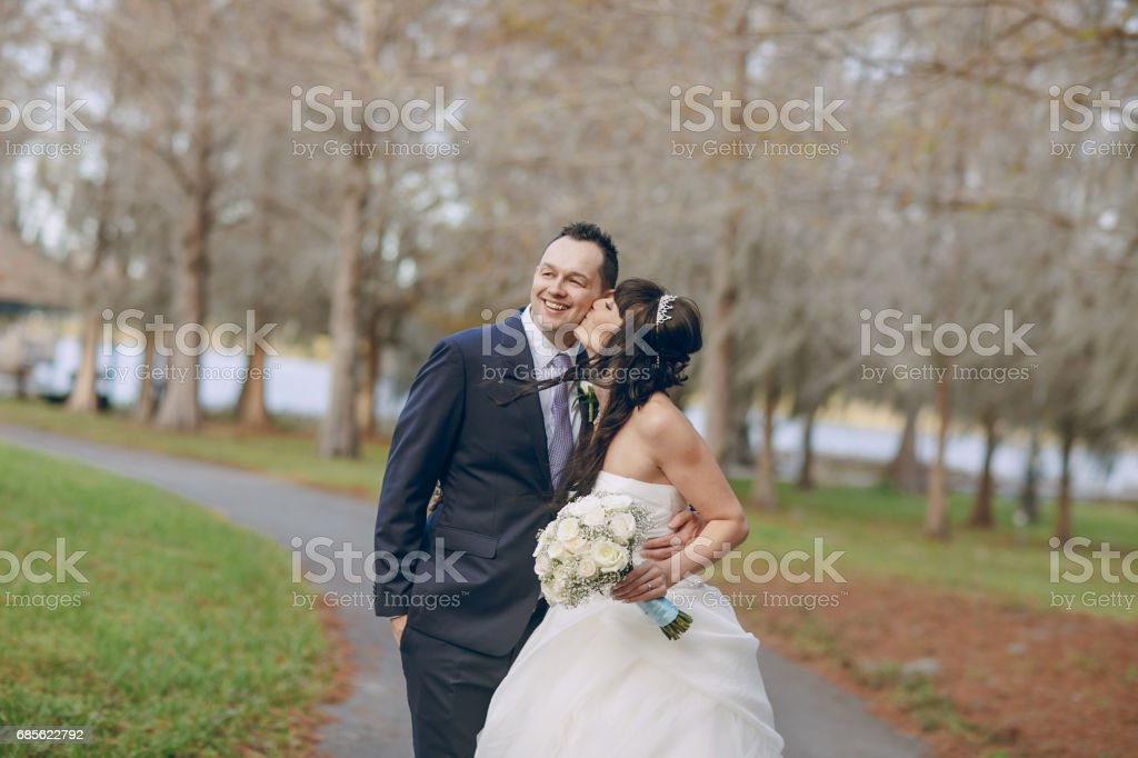 wonderful wedding day royalty-free stock photo