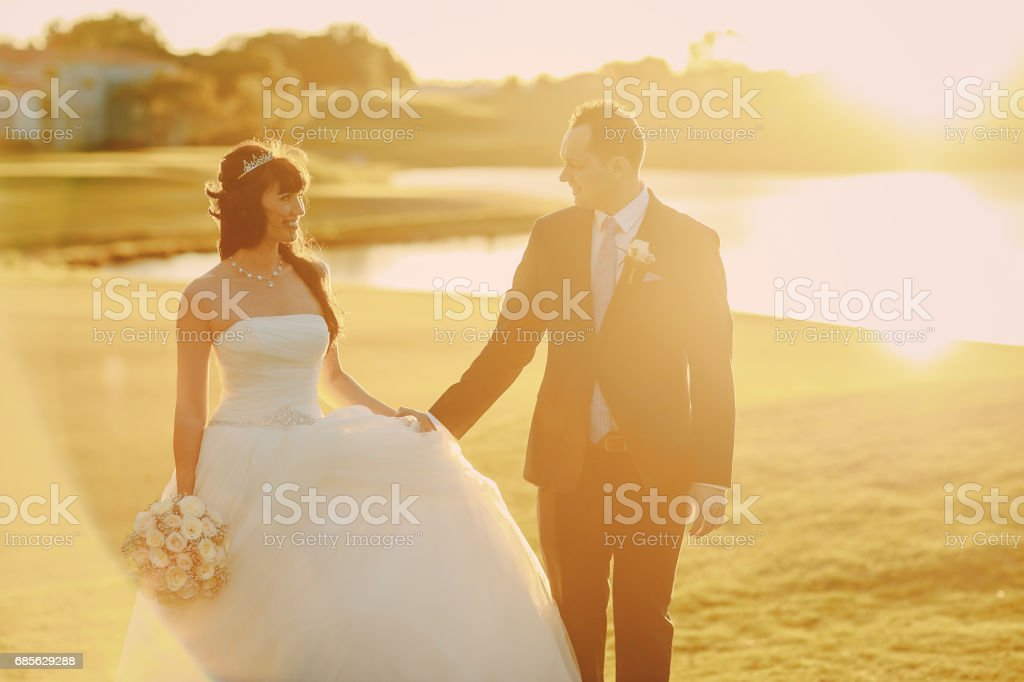 wonderful wedding day foto de stock royalty-free
