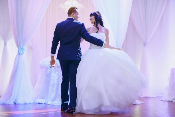 wonderful wedding day stock photo