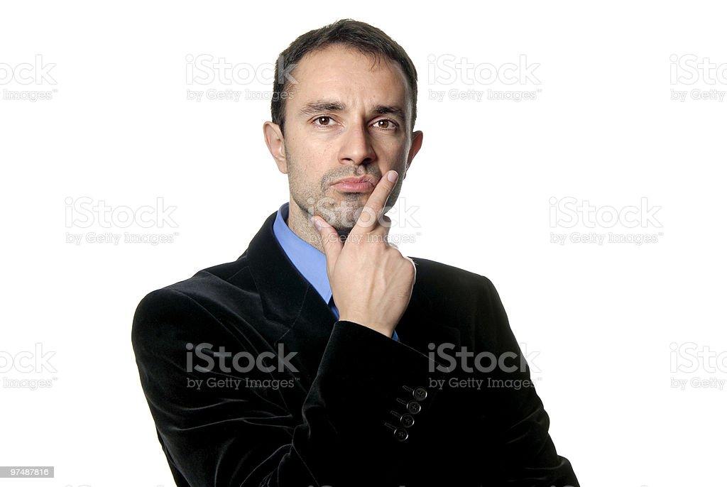 wondering royalty-free stock photo