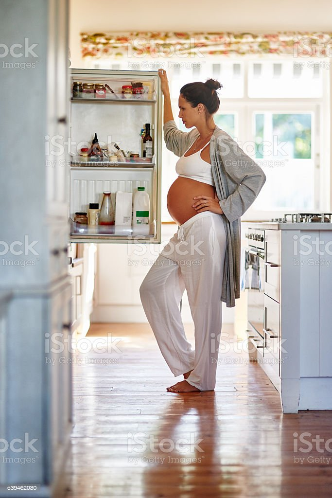 Wondering what to eat stock photo