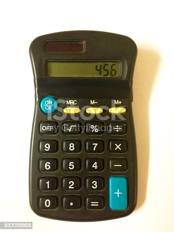 Do your finances look like this?  This image shows a solar powered calculator held together with electrical tape and with the numbers 4, 5 and 6, and 7, 8 and 9 in reverse order. While numbers 1, 2 and 3 are as they should be. Ever had one of those days?