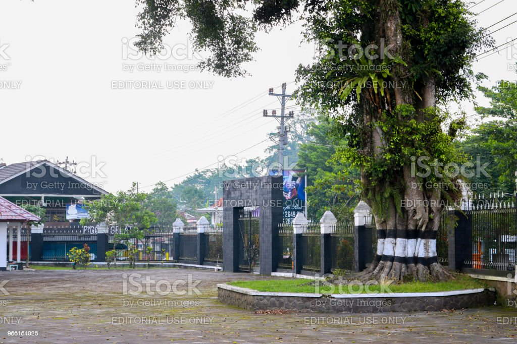 Wonosobo Park, Tomb of the Hero, Monument, Carving, Monument to the Wonosobo Heroes, Wonosobo city, Indonesian | Asian - Royalty-free Architecture Stock Photo
