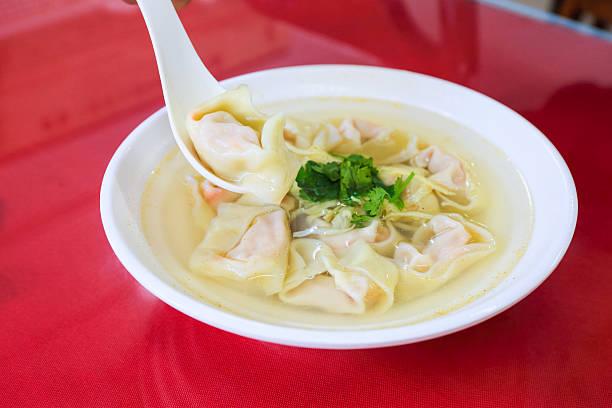 wonton-Suppe – Foto