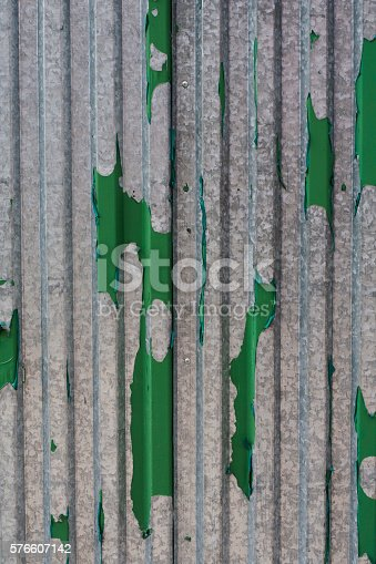 465559373 istock photo Wood background gray with green / vertical texture 576607142
