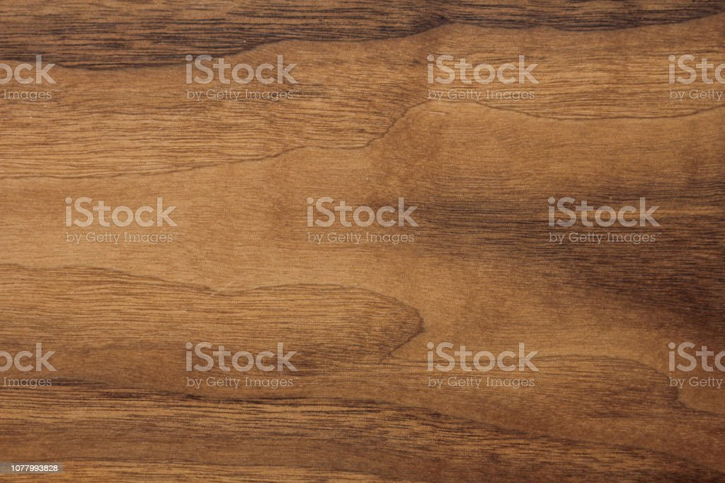 Wood background or dark brown texture. Texture of old wood use as natural background. Top view of brown black american walnut wood paneling. Copy space stock photo