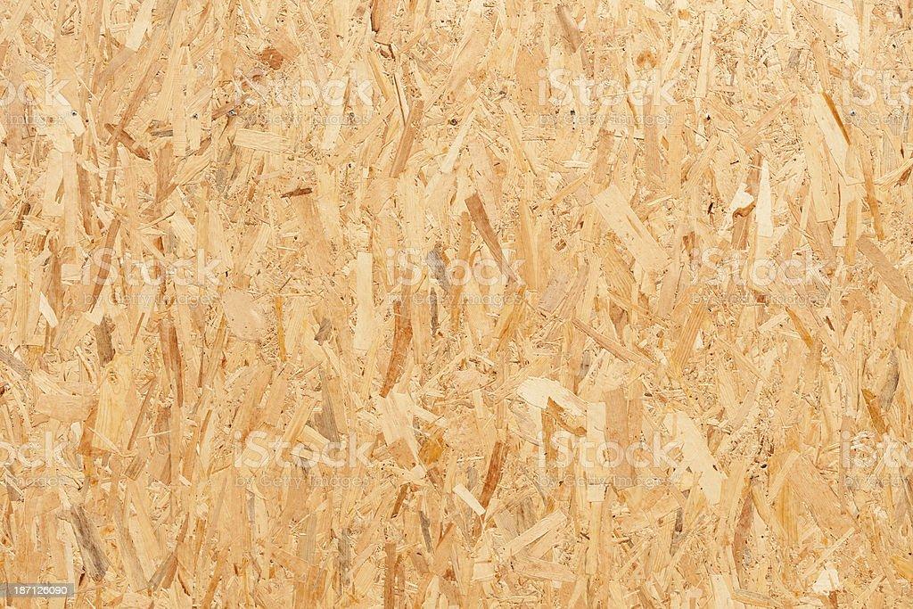 OSB Wood Background. stock photo