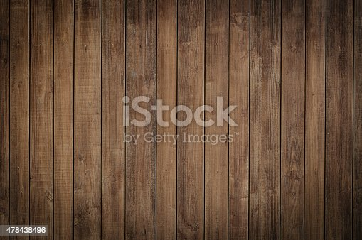istock Wood background texture pattern dark grunge plank vignette 478438496