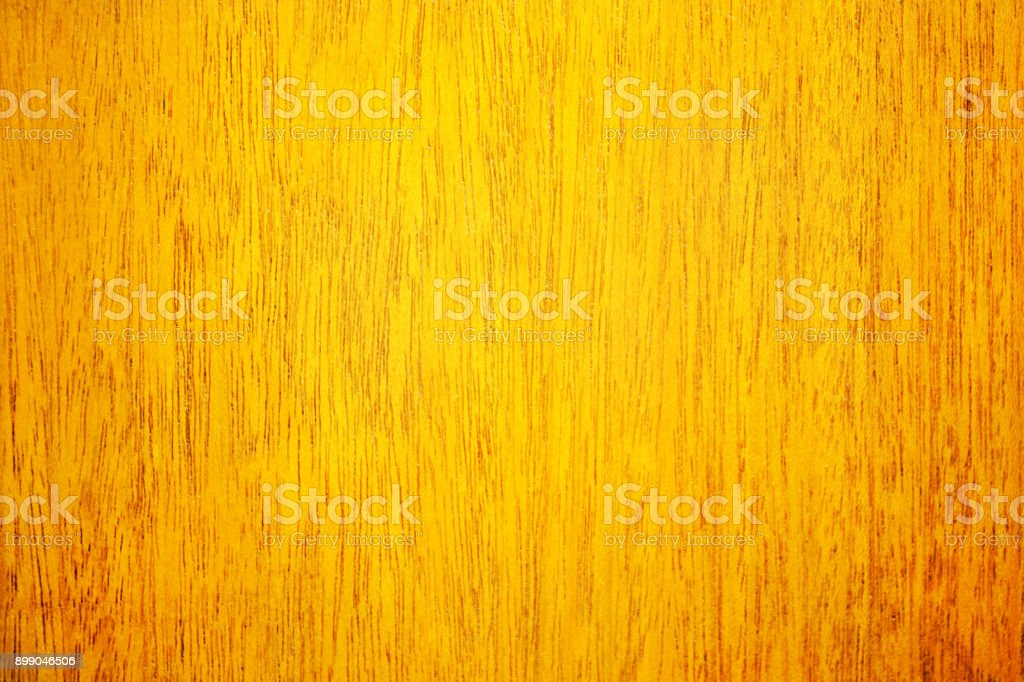 Wood Background with Orange Surface and Natural Pattern stock photo