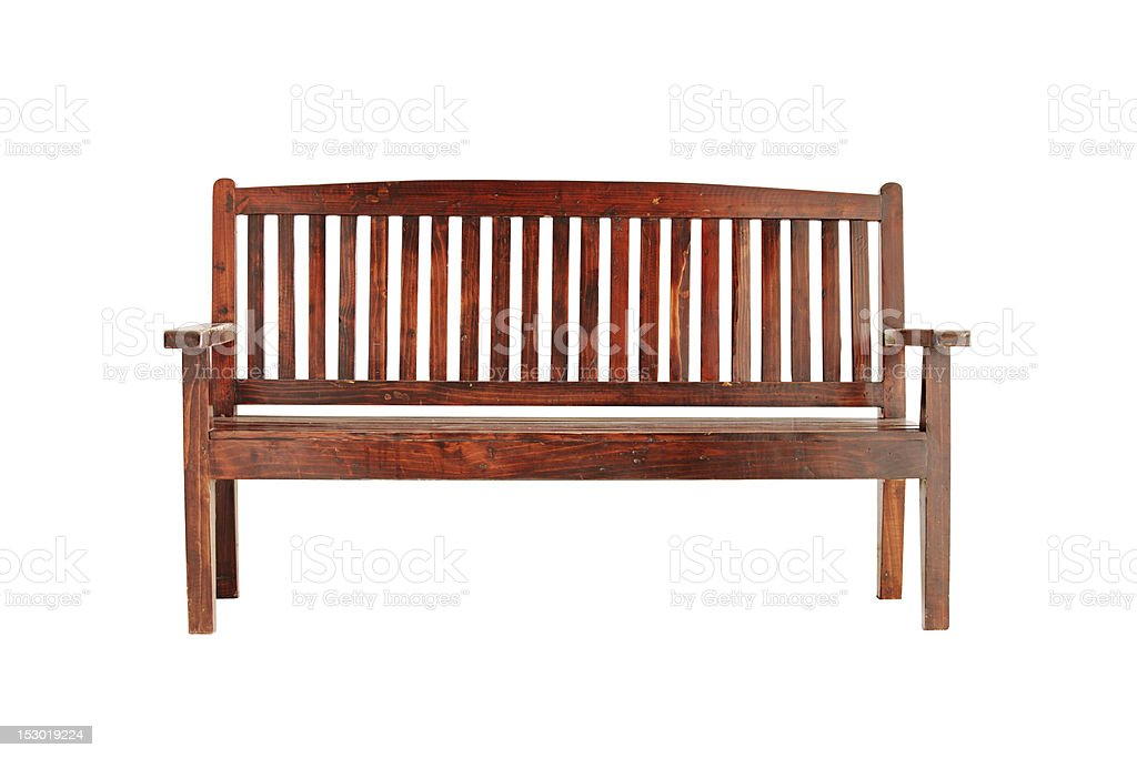 Wood Bench stock photo