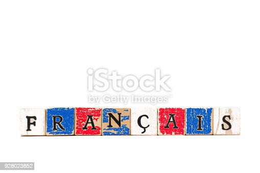 Wood Block Letters Spelling